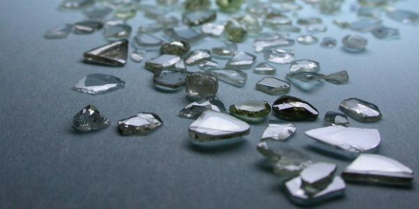 Imagem de um diamante quebrado (Foto: Free Images)