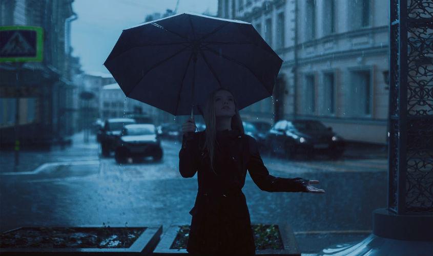 Os dias chuvosos