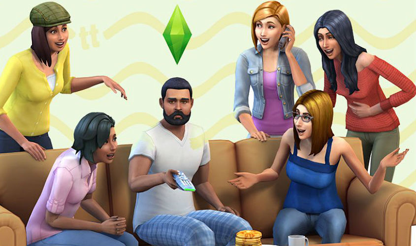 The Sims X Amizades